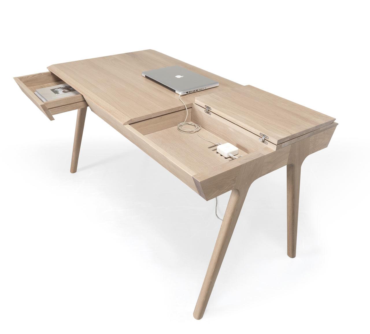 Стол с местом для хранения