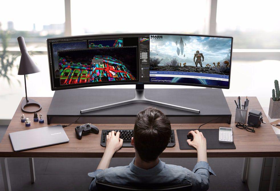 49-дюймовый игровой монитор Samsung CHG90 QLED