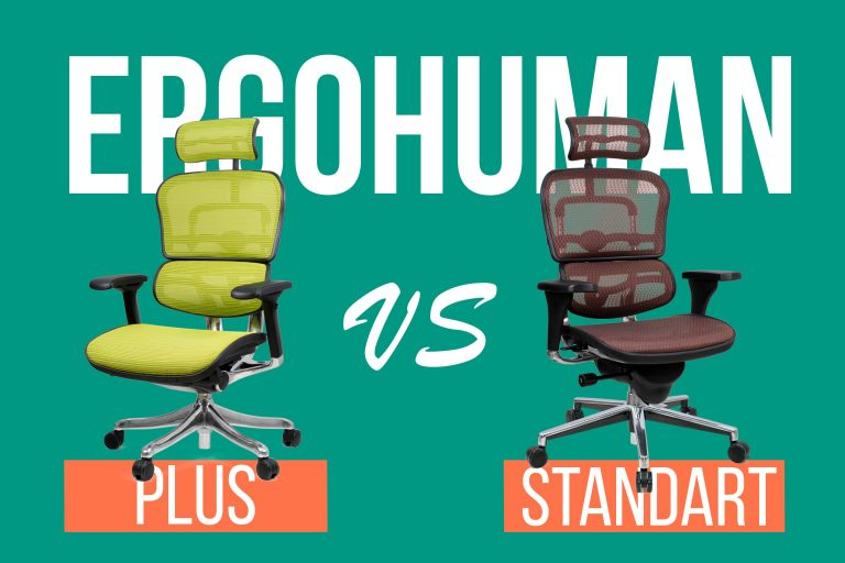 Сравниваем Ergohuman: Standart и Plus