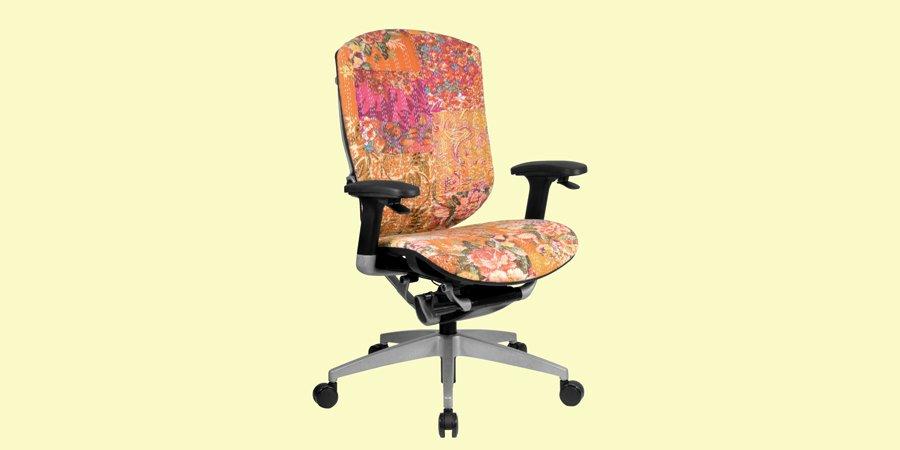 Дизайнерское кресло LAYA GTCHAIR с тканевой обивкой