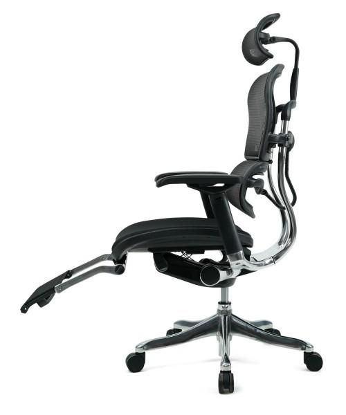 Эргономичное компьютерное кресло Ergohuman Plus с тканевым сиденьем
