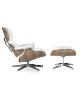 Eames Style Lounge Chair & Ottoman орех