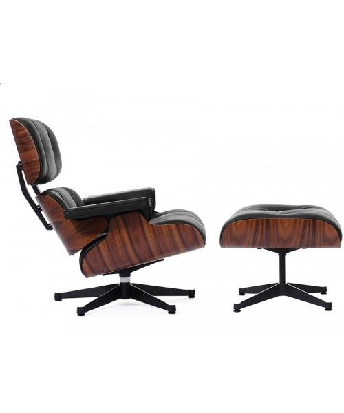 Eames Style Lounge Chair & Ottoman палисандр