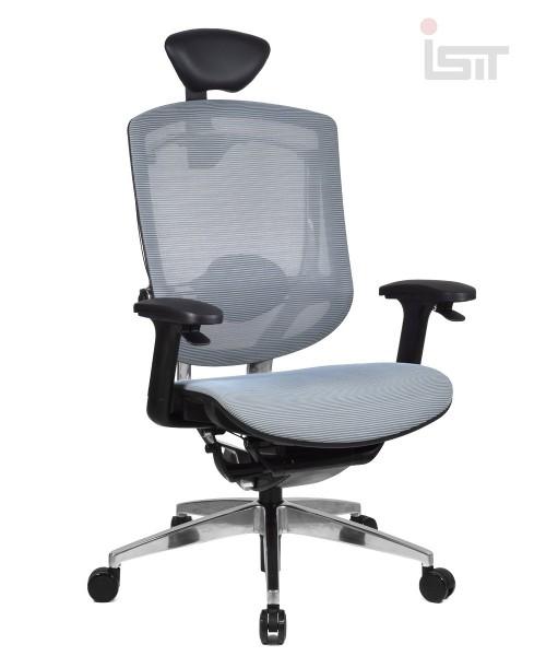 Кресло Marrit GT07-35X с кожаным подголовником K3