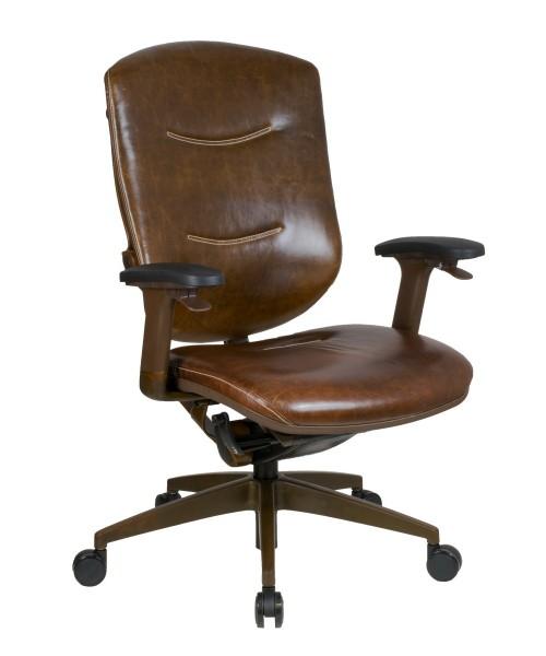 Кресло из натуральной кожи Retro компании GTCHAIR