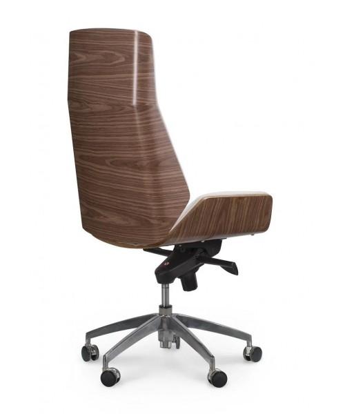 Кожаное кресло руководителя Патио