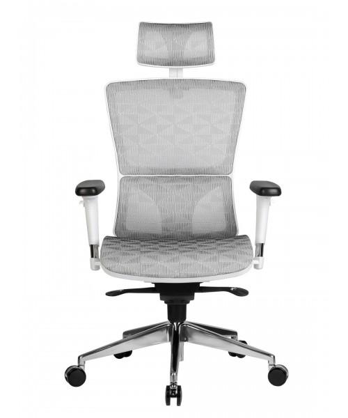 Компьютерное кресло в белом корпусе A8