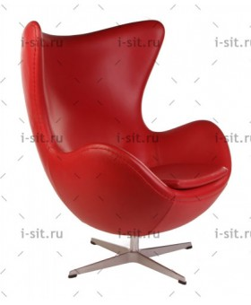 Arne Jacobsen Style Egg Chair кожа