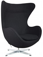 Кресло Arne Jacobsen Style Egg Chair шерсть