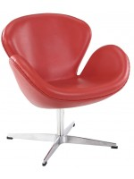 Arne Jacobsen Style Swan Chair кожа