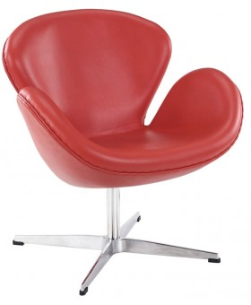 Arne Jacobsen Style Swan Chair кожа