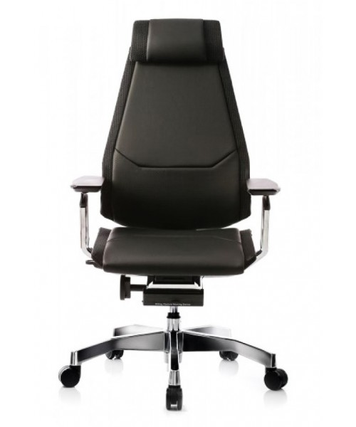 Эргономичное кресло Genidia Luxury в коже