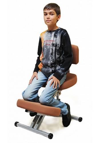 Коленный стул со спинкой Smartstool KM01B