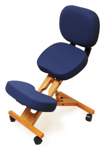 Коленный стул с поддержкой спины KW02B Smartstool