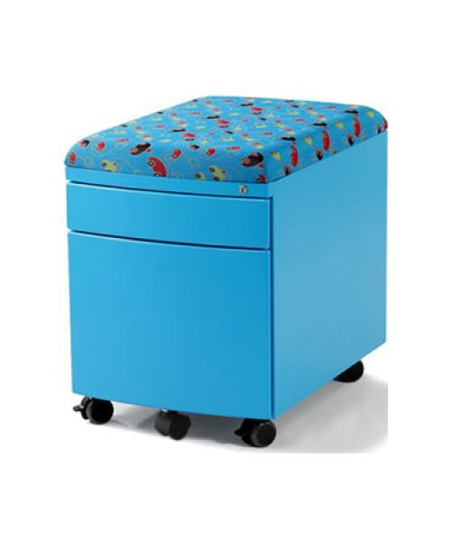 Детская тумба Драйвер 2 ящика