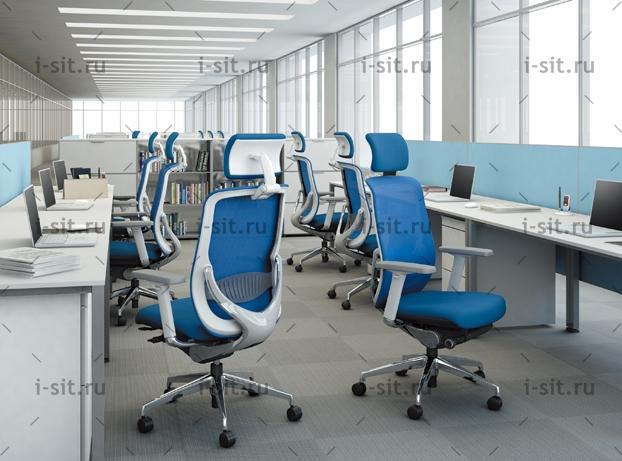 Okamura Zephyr light, компьютерное кресло